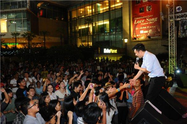 Central Festival Phuket Love Song Festival 2012