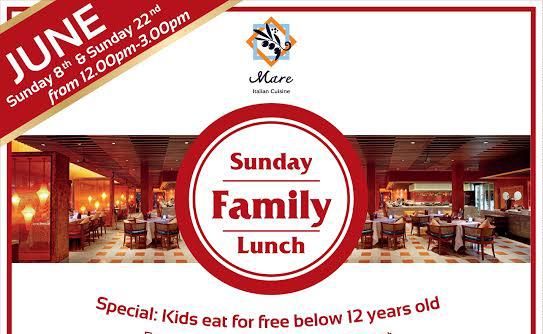 โปรโมชั่น Sunday Family Lunch ที่เซ็นทาราภูเก็ต