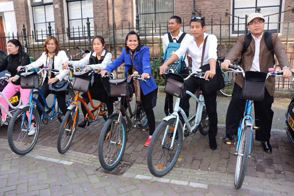 ทบ.เมืองกะทู้ ดูงานเมืองแห่งจักรยาน ประเทศเนเธอแลนด์