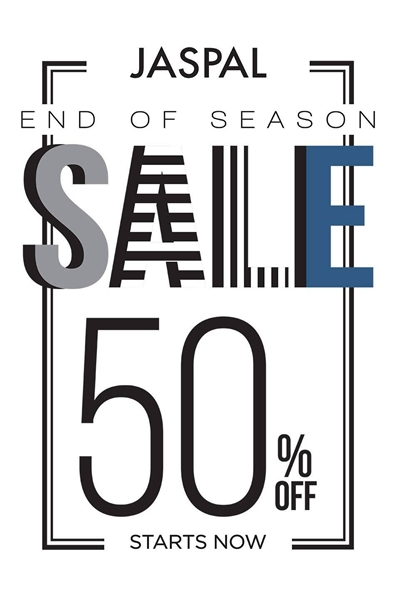 JASPAL End Of Season Sale 2015