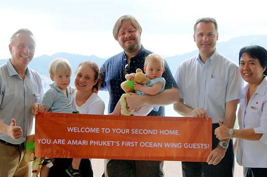 อมารี ภูเก็ต ต้อนรับครอบครัวแรกสู่โอเชี่ยนวิง