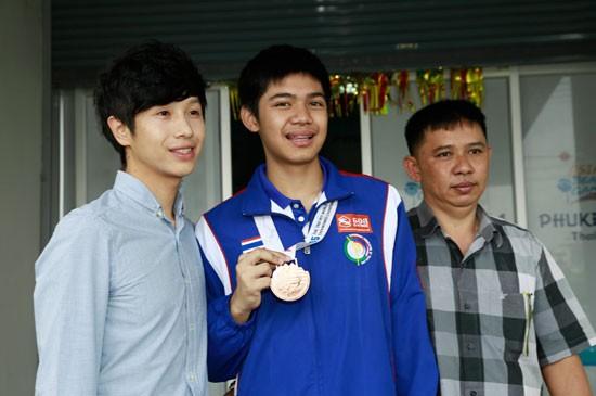 เด็กภูเก็ตคว้าเหรียญทองแดง แข่งขันเทควันโด้โลก ด.ช.นุชิต รักญาติ