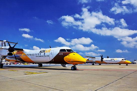 นกแอร์ รับมอบเครื่องบินรุ่น Q400 เข้าฝูงบิน จำนวน 2 ลำ