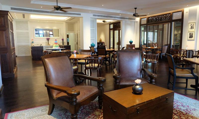 ห้องอาหารของทางโรงแรม โซฟิเทล กระบี่