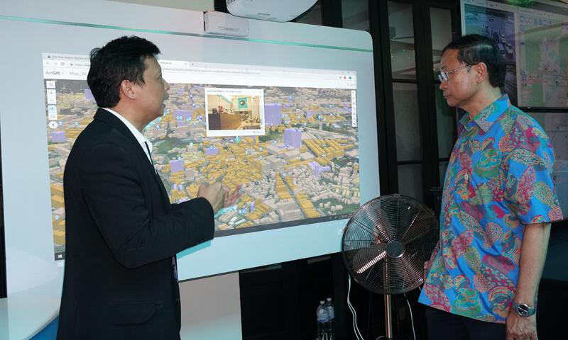 รมว.ดิจิทัลฯ ร่วมชม ซิตี้ เดต้า อนาไลติกส์ โชว์บริการข้อมูลภูเก็ต ผ่าน City Data Platform : Service Layer