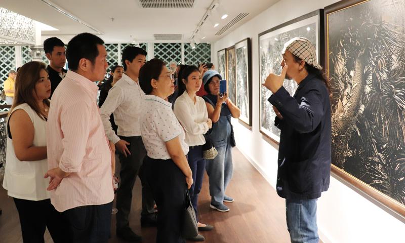 โรงแรมรามาดา พลาซ่า เจ้าฟ้า เปิดตัวพื้นที่แสดงผลงานศิลปะ Art @ Chaofah