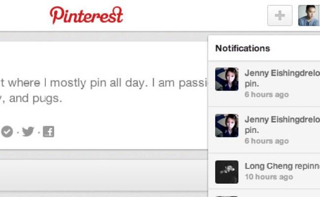 Novità Pinterest Migliorano Notifiche E Ricerca