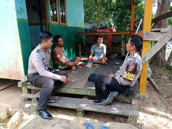 DDS Sarana Anggota Bhabinkamtibmas Menjalin Silaturahmi dan Komunikasi ke Masyarakat