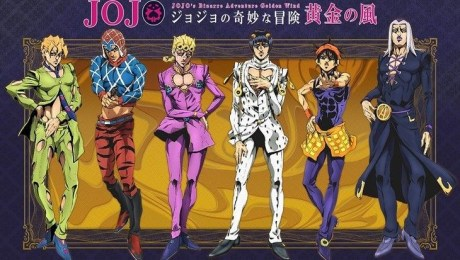 TV anime JoJo's Bizarre Adventure Golden Wind premieres in Oct 2018