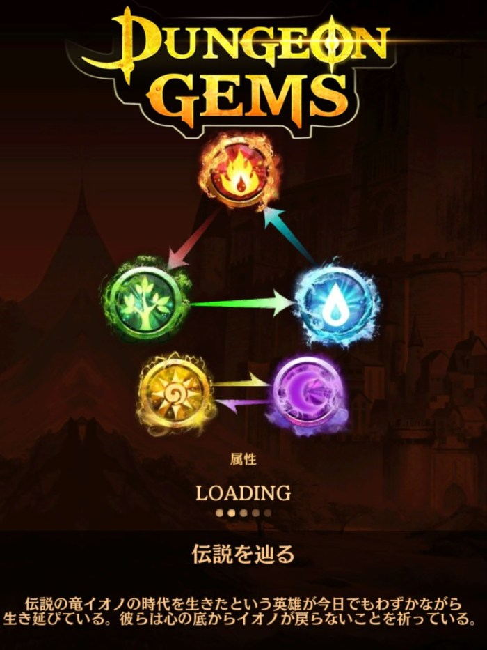 dungeon gems 3