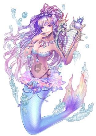 公主之塔 美人魚(1)