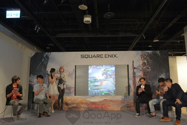 SQUARE-ENIX--(21)--MOBIUS-F-INAL-FANTASY媒體暨玩家體驗會,現場更邀請遊戲-u----_----戲總監濱口直樹、實況主Niaws、資深玩家,與實況主六嘆,共同挑戰協力關卡!