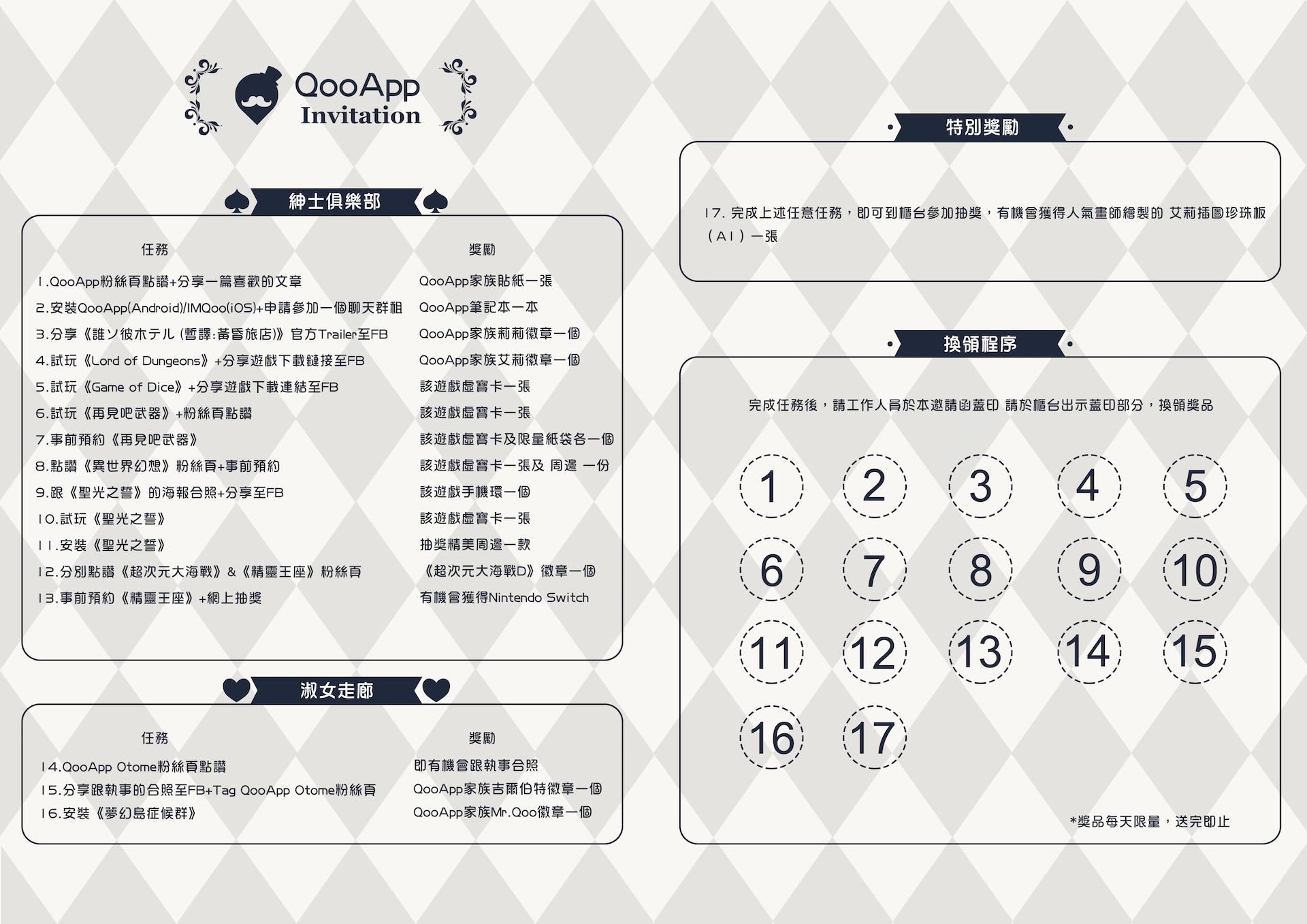 台北國際電玩展2018 QooApp