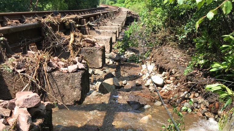 West Highland line recovery works underway