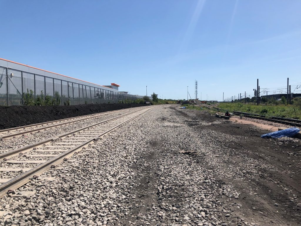 GB Railfreight unveils new sidings at Peterborough