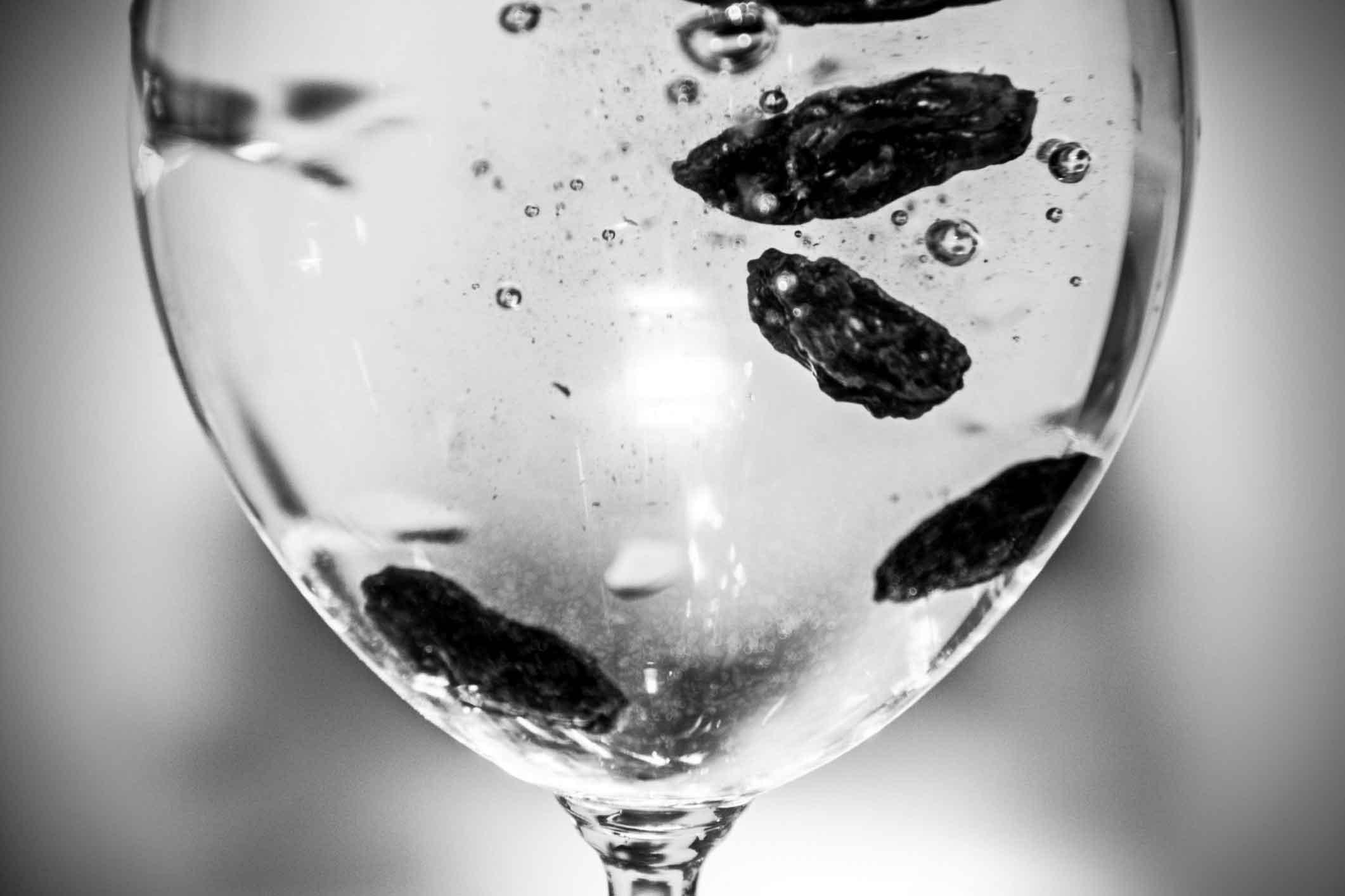 Raisins in 100 ml of water overnight  Voxitatis Blog