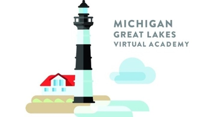 Logo- Michigan Great Lakes Virtual Academy