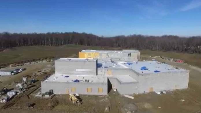 Streetsboro Ohio high school drone flyover