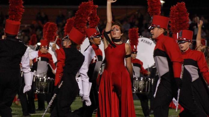 Morton High School Marching Band September 10 2016