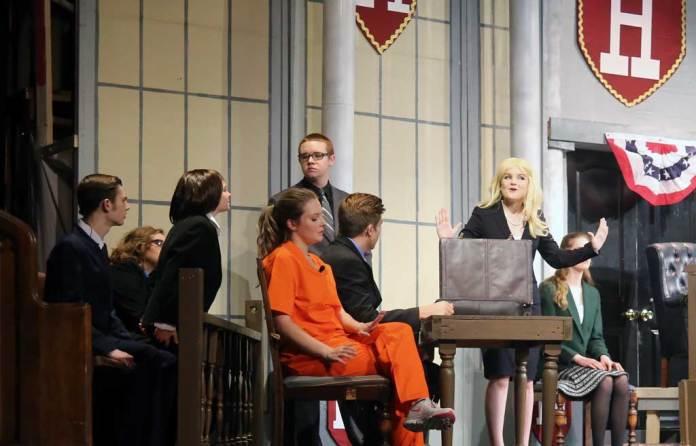 Legally Blonde production at La Plata (Md.) High School, April 29, 2017 (Voxitatis)