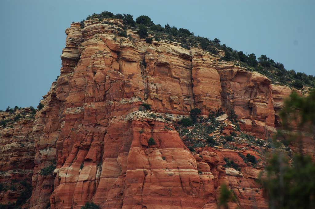 Red Rock Layers Of Sedona Show Natural History Voxitatis