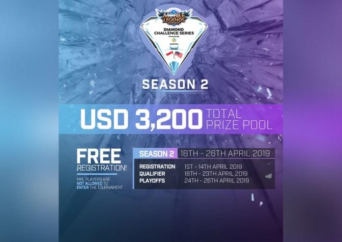 mobile legends diamond challenge season 2