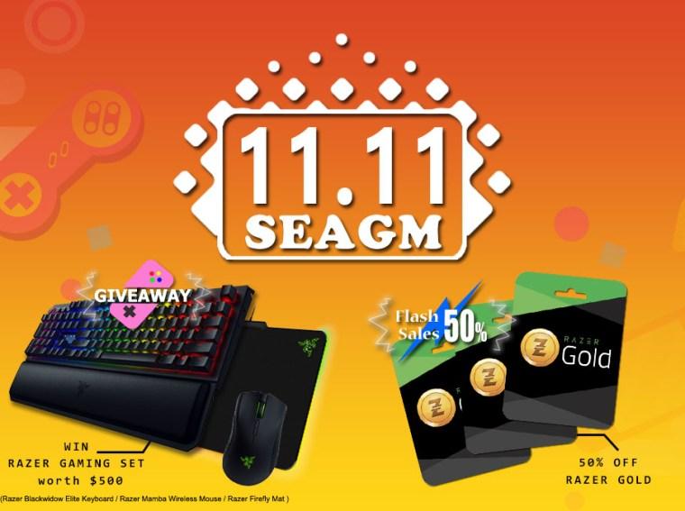11.11 SEAGM Sale