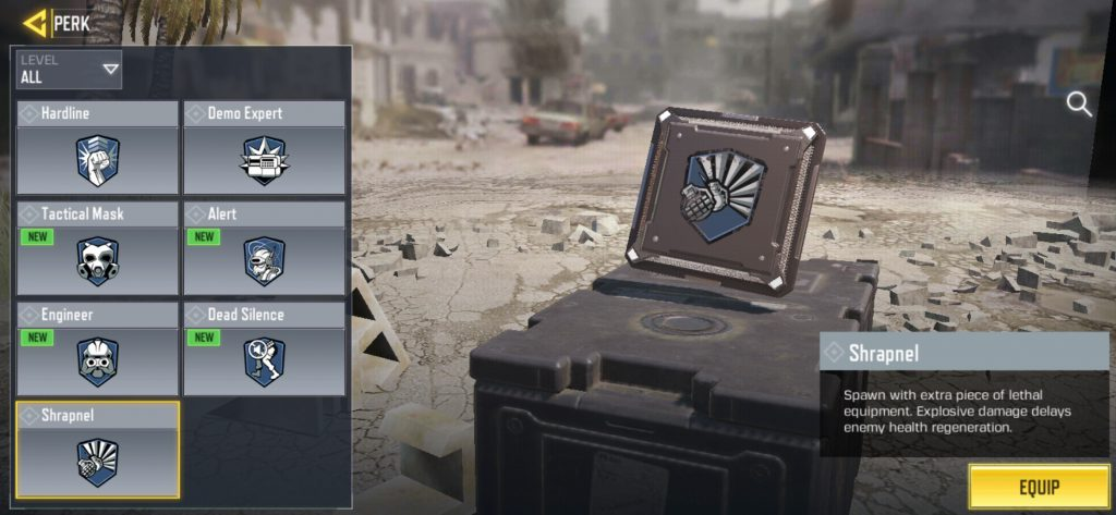 Call of Duty: Mobile Top 2 Blue Perks + New Blue Perk