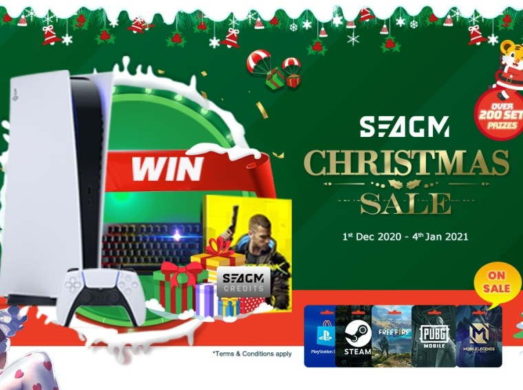 seagm-christmas -sale-weekly-promotion