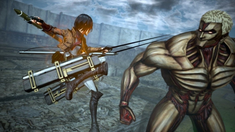attakc on titan 2 battle