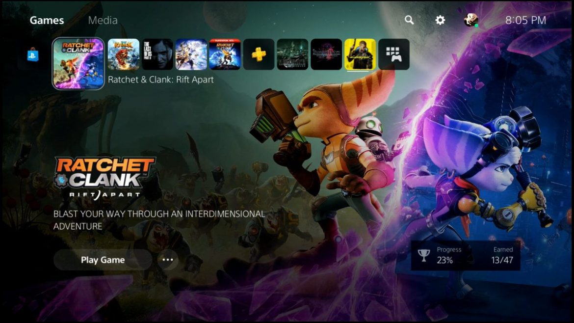 ratchet and clank rift apart ssd speed