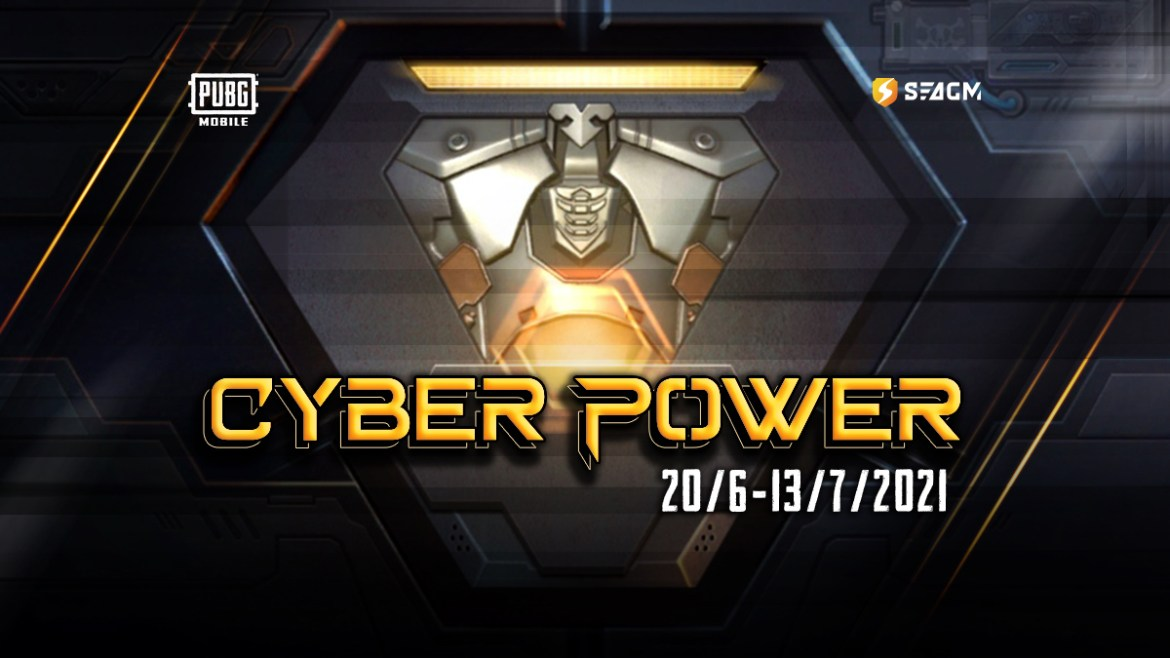 pubg mobile cyber power event