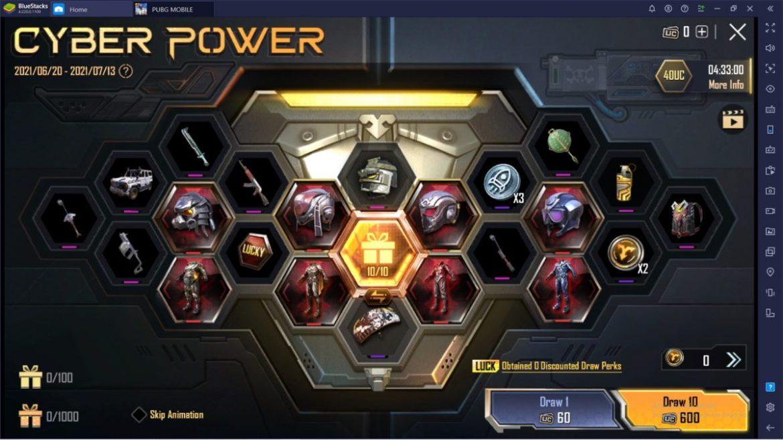 cyber power pubg mobile