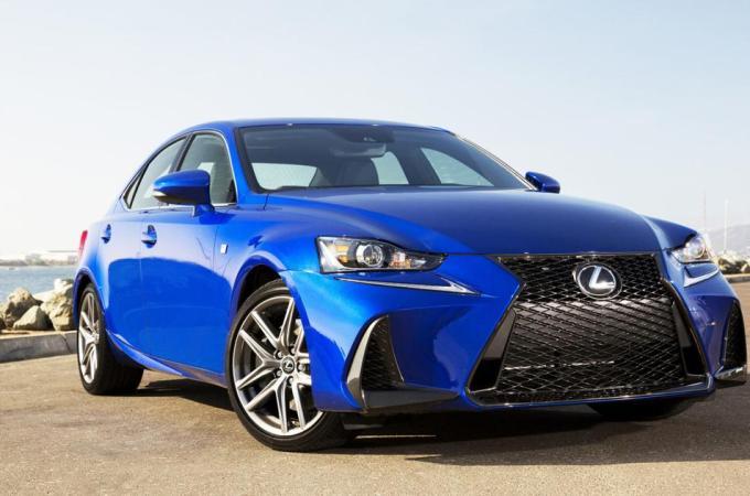 Lexus IS sports sedan gets new name