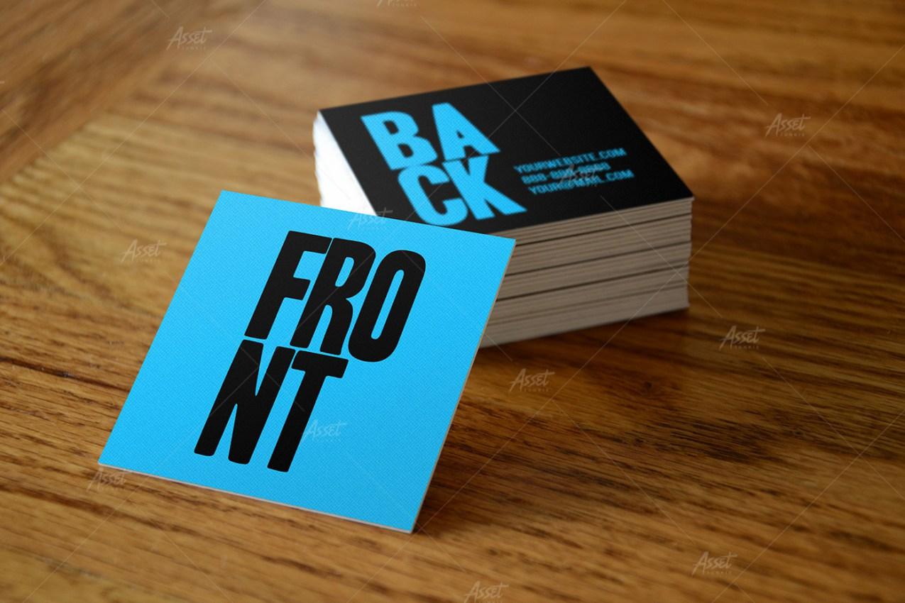 square business card mockups vol 1 vitalzigns graphicriver square