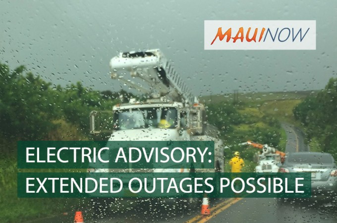 Maui Now : Hundreds on Moloka'i Face Extended Power Outage