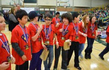 Over 600 area students visited Shoreline's campus for the 18th annual Math Olympiad