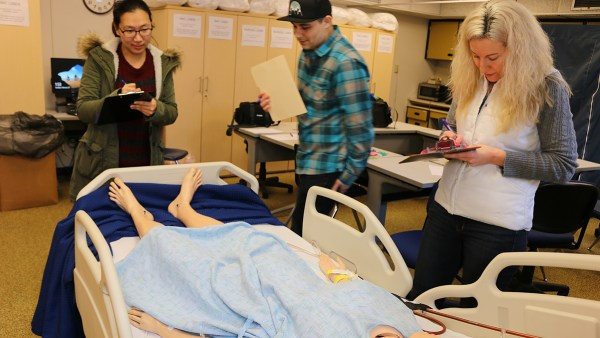 Nursing students test safety acumen with friendly competition