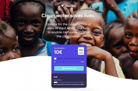 SmartAid – First Blockchain-Based Donation App Launched by Datarella and YOU Foundation