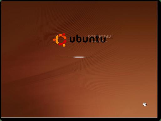 The new X-based boot splash screen in Ubuntu 9.10 Alpha 5