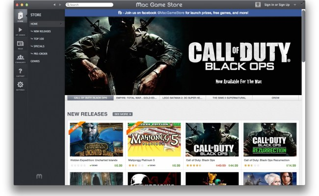 Mac Game Store A Dedicated App Store For Os X Games