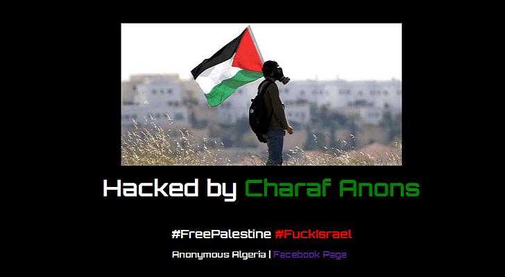 Charaf Anons modificó más de 1.000 sitios web