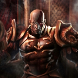 GRR KRATOS IS ANGRY