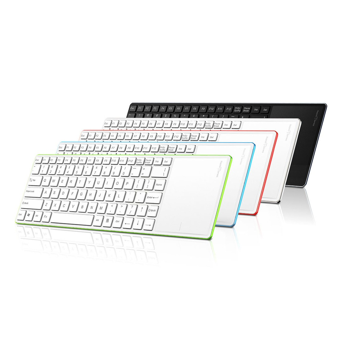 Rapoo's Latest Wireless Keyboard Has a Touchpad with a