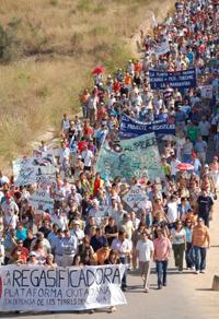 Manifestación en Alcanar / VinarosNews