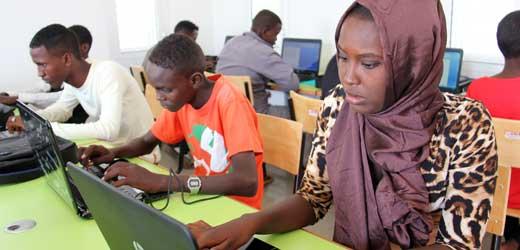 E-Learning-Zentrum in Dschibuti