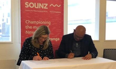 SOUNZ signs Mahi Tahi agreement