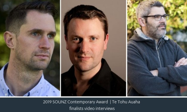 SOUNZ Contemporary Award 2019 Finalist Video Interviews