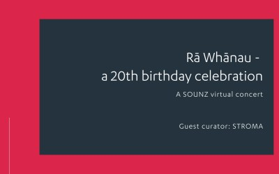 Rā Whānau – a 20th birthday celebration