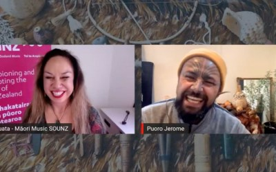 Introduction to Taonga Puoro | Q & A session with Jerome Kavanagh